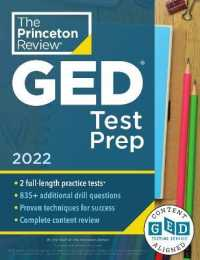 Link to an enlarged image of Princeton Review Ged Test Prep 2022 : Practice Tests + Review & Techniques + Online Features (Princeton Review Ged Test Prep)