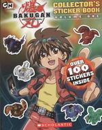 Link to an enlarged image of Bakugan Sticker Book (Bakugan Battle Brawlers) (STK)