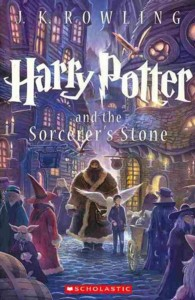 Link to an enlarged image of Harry Potter and the Sorcerer's Stone (Harry Potter) (Reprint)