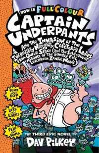 Link to an enlarged image of Captain Underpants and the Invasion of the Incredibly Naughty Cafeteria Ladies from Outer Space : Color Edition (Captain Underpants)