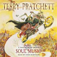 Link to an enlarged image of Soul Music : (Discworld Novel 16) (Discworld Novels) -- CD-Audio (Abridged e)
