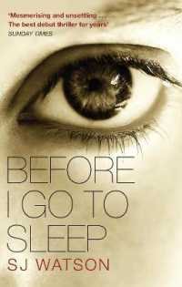 Link to an enlarged image of Before I Go to Sleep -- Paperback / softback