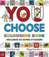 Books Kinokuniya You Choose Colouring Book With Stickers