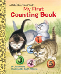 Link to an enlarged image of My First Counting Book (Little Golden Board Books) (BRDBK)