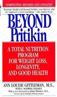 Link to an enlarged image of Beyond Pritikin : A Total Nutrition Program for Rapid Weight Loss, Longevity, and Good Health (Reprint)