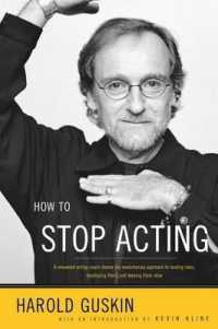 Link to an enlarged image of How to Stop Acting