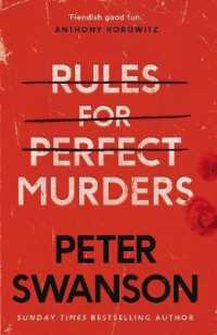 Link to an enlarged image of Rules for Perfect Murders -- Paperback