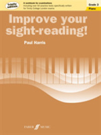 Link to an enlarged image of Improve Your Sight-Reading! Grade 3 : Piano, Trinity Edition (Improve Your Sight-reading!)