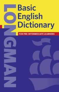 Link to an enlarged image of Longman Basic English Dictionary: Paper
