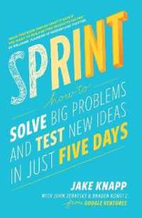 Link to an enlarged image of Sprint : How to Solve Big Problems and Test New Ideas in Just Five Days -- Paperback / softback