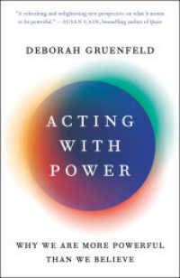 Acting with Power : Why We Are More Powerful than We Believe -- Paperback (English Language Edition) 9780593138687