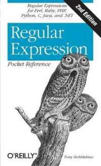 Link to an enlarged image of Regular Expression : Pocket Reference (2nd)