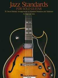 Link to an enlarged image of Jazz Standards for Solo Guitar