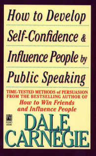 Link to an enlarged image of How to Develop Self-Confidence and Influence People by Public Speaking (Reissue)