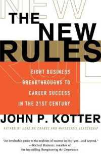 Link to an enlarged image of The New Rules : Eight Business Breakthroughs to Career Success in the 21st Century (Reprint)
