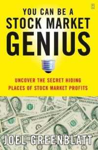 Link to an enlarged image of You Can Be a Stock Market Genius : Uncover the Secret Hiding Places of Stock Market Profits