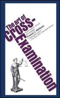 Link to an enlarged image of Art of Cross-Examination (4th Reprint)