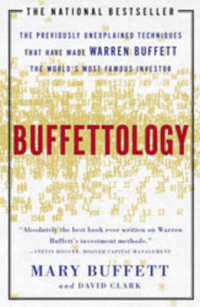 Link to an enlarged image of Buffettology : The Previously Unexplained Techniques That Have Made Warren Buffett the Worlds