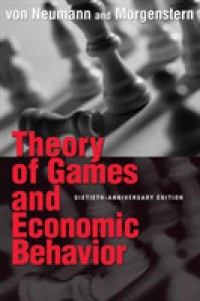 Link to an enlarged image of Theory of Games and Economic Behavior (60th Anniversary)