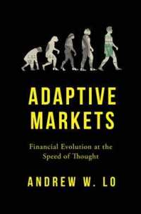 Link to an enlarged image of Adaptive Markets : Financial Evolution at the Speed of Thought