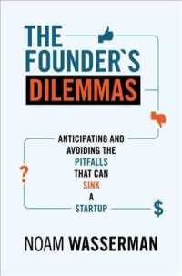 Link to an enlarged image of The Founder's Dilemmas : Anticipating and Avoiding the Pitfalls That Can Sink a Startup (Kauffman Foundation Series on Innovation and Entrepreneurship