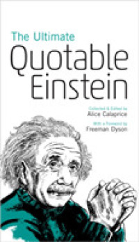 Link to an enlarged image of The Ultimate Quotable Einstein