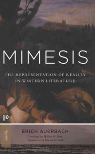 Link to an enlarged image of Mimesis : The Representation of Reality in Western Literature (Princeton Classics) (Reprint)