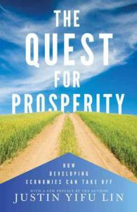 Link to an enlarged image of The Quest for Prosperity : How Developing Economies Can Take Off (Revised)