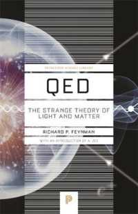 Link to an enlarged image of Qed : The Strange Theory of Light and Matter (Princeton Science Library)