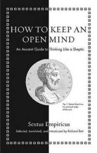 Link to an enlarged image of How to Keep an Open Mind : An Ancient Guide to Thinking Like a Skeptic (Ancient Wisdom for Modern Readers)