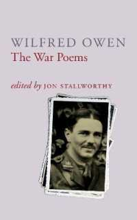 Link to an enlarged image of The War Poems Of Wilfred Owen