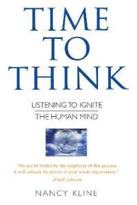 Link to an enlarged image of Time to Think : Listening to Ignite the Human Mind
