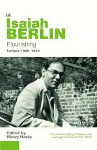 Link to an enlarged image of Flourishing : Letters 19281946