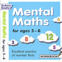 Link to an enlarged image of Mental Maths for Ages 5-6 (Mental Maths) -- Paperback / softback