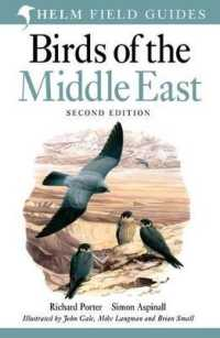 Link to an enlarged image of Birds of the Middle East (Helm Field Guides) -- Paperback / softback (2 Revised)