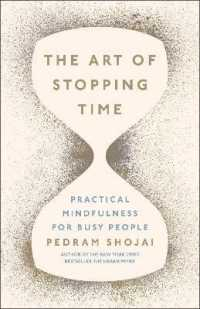 Link to an enlarged image of Art of Stopping Time -- Hardback