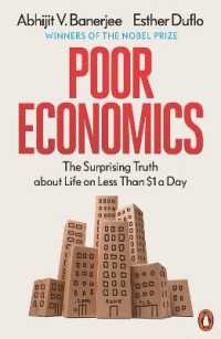 Link to an enlarged image of Poor Economics : The Surprising Truth about Life on Less than $1 a Day -- Paperback / softback
