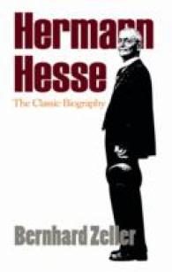 Link to an enlarged image of Hermann Hesse : The Classic Biography