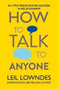 Link to an enlarged image of How to Talk to Anyone: 92 Little Tricks for Big Success in Relationships