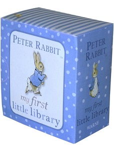 Link to an enlarged 2nd image of Peter Rabbit My First Little Library