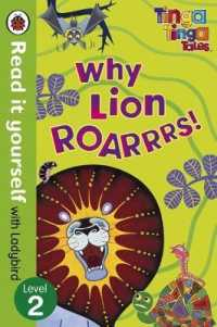 Link to an enlarged image of Tinga Tinga Tales: Why Lion Roars ( Read It Yourself Level 2 ) (EXPORT)