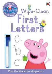 Link to an enlarged image of Peppa Pig: Practise with Peppa: Wipe-clean First Letters (Peppa Pig) -- Paperback / softback