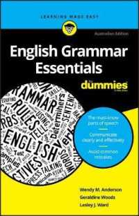 Link to an enlarged image of English Grammar Essentials for Dummies : Australian Edition (For Dummies (Language & Literature))