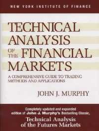 Link to an enlarged image of Technical Analysis of the Financial Markets : A Comprehensive Guide to Trading Methods and Applications (Subsequent Updated EX)