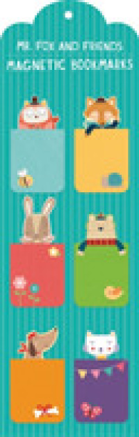 Link to an enlarged image of Mr Fox and Friends Magnetic Bookmarks (NOV)