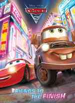Link to an enlarged image of Friends to the Finish Coloring Book (Disney - Pixar: Cars 2) (ACT CLR CS)