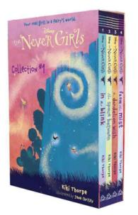 Link to an enlarged image of The Never Girls Collection #1 (4-Volume Set) (Disney Fairies) (BOX)