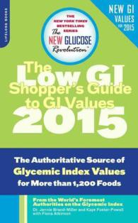 Link to an enlarged image of The Shopper's Guide to GI Values : The Authoritative Source of Glycemic Index Values for More than 1,200 Foods (The New Glucose Revolution Series)