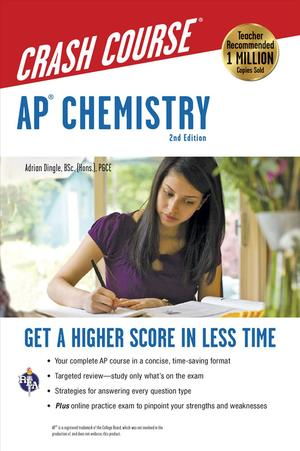 Books Kinokuniya: AP Chemistry Crash Course (Ap Crash Course