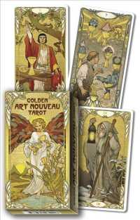 Link to an enlarged image of Golden Art Nouveau Tarot (BOX TCR CR)